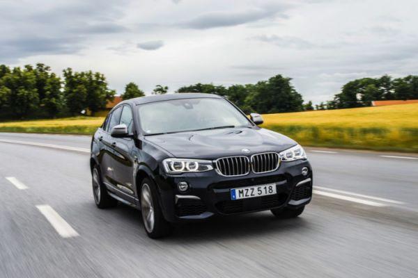 Передняя оптика BMW X4 M40i 2017