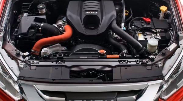 Исузу D-Max 2018, двигатель