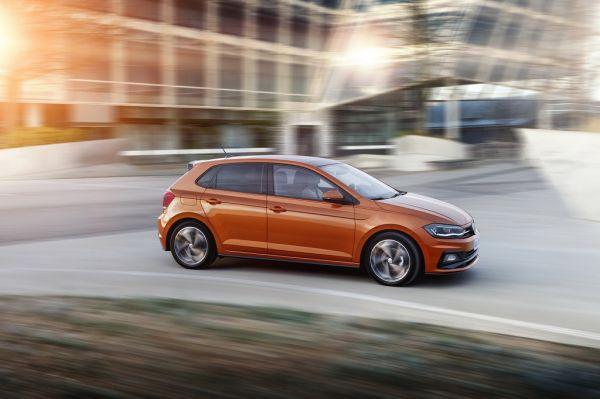 Volkswagen Polo 2017, вид сбоку справа