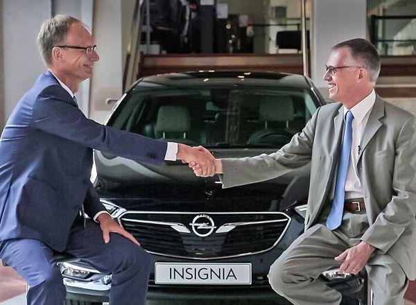 Продажа брендов Opel и Vauxhall