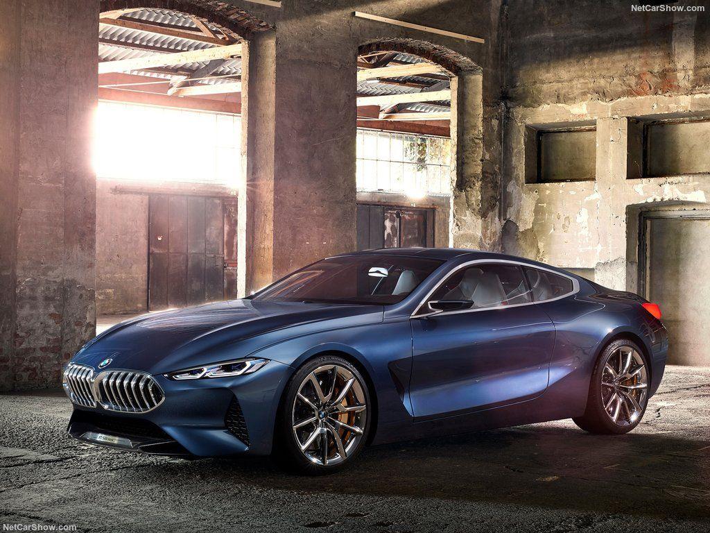 Знакомство с BMW 8-Series Concept
