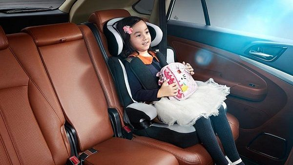 BYD Tang, задние сидения