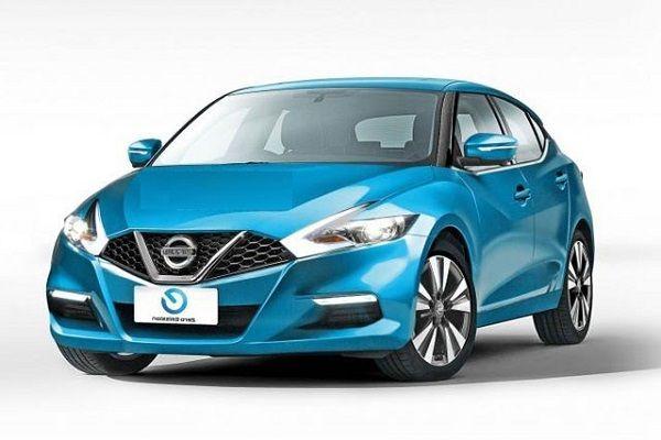 Nissan Leaf 2017, вид спереди и сбоку справа