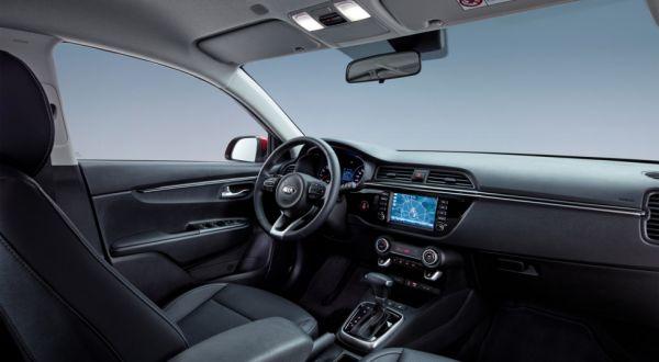 Интерьер нового Kia Rio четвертого поколения