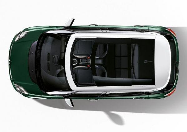 Панорамная крыша Fiat 500L Cross 2018