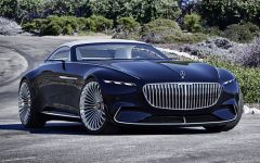 Представлен Vision Mercedes-Maybach 6 Cabriolet