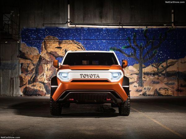 Toyota FT-4x 2017, вид спереди