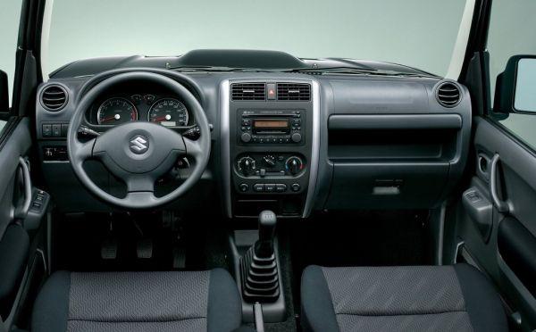 Suzuki Jimny 2017, руль и панель управления