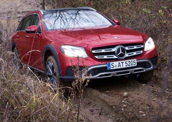 Передняя оптика нового Mercedes-Benz