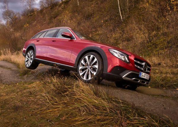 Внедорожные качества Mercedes E-Class All Terrain 2017