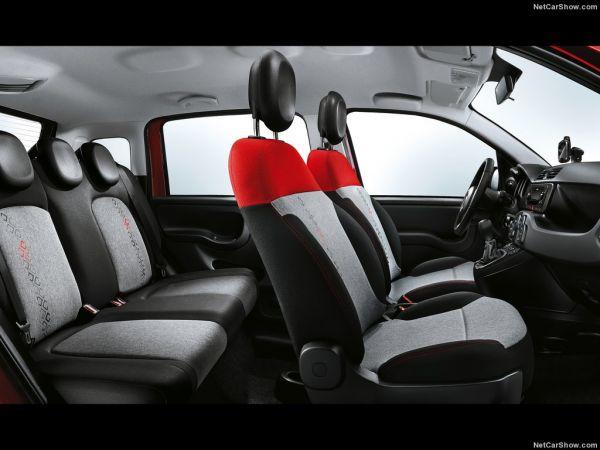 Fiat Panda 2017, сидения