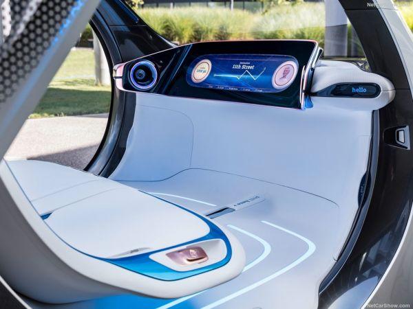 Smart Vision EQ ForTwo 2017, панель управления