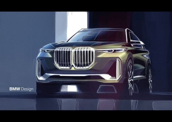 Новый BMW X7 iPerformance Concept 2017