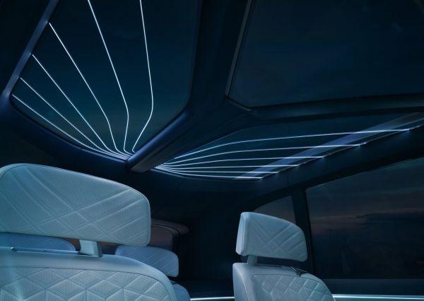 Подсветка крыши внедорожника BMW X7