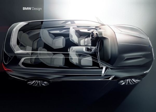 Интерьер BMW X7 iPerformance Concept 2017