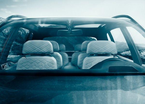 Панорамная крыша и ветровое стекло BMW X7