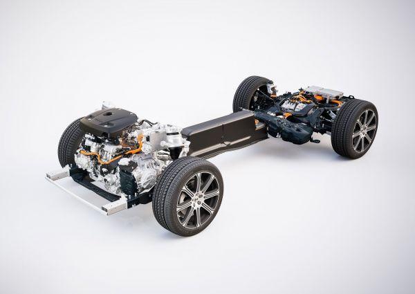 Подвеска и двигатель Volvo XC60 2018