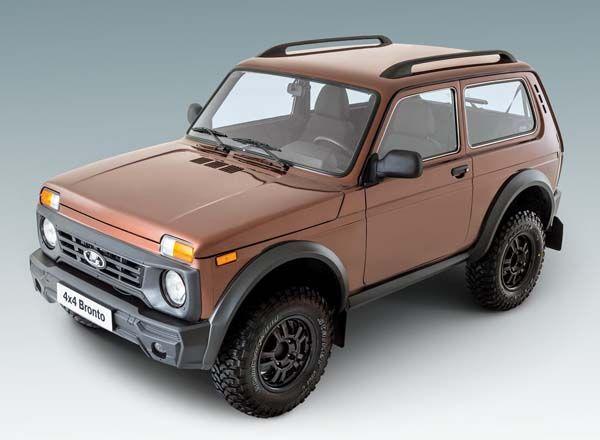 Новая Lada 4x4 Bronto