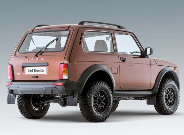 Lada 4x4 Bronto, вид сзади