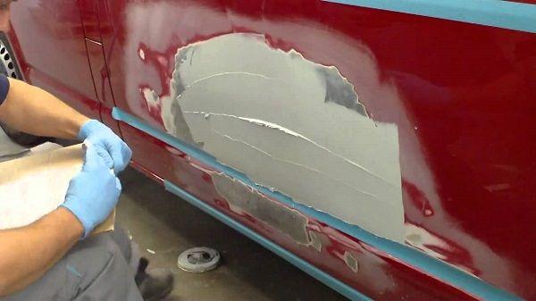 Как сделать локальный ремонт кузова автомобиля