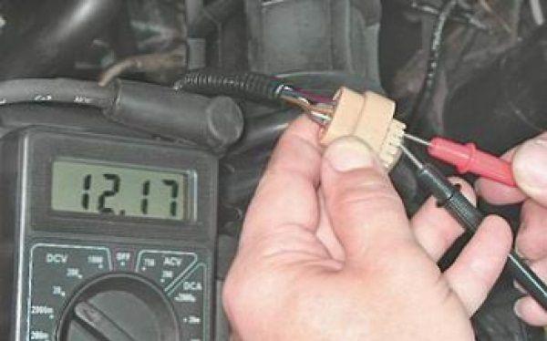Как проверить сигнал на катушку от блока управления ВАЗ 2114