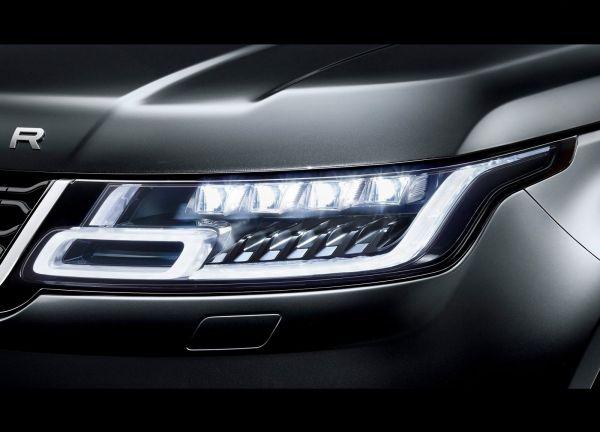 Передняя светодиодная оптика Range Rover Sport 2018