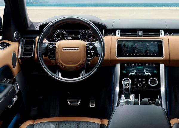 Передняя панель Range Rover Sport 2018