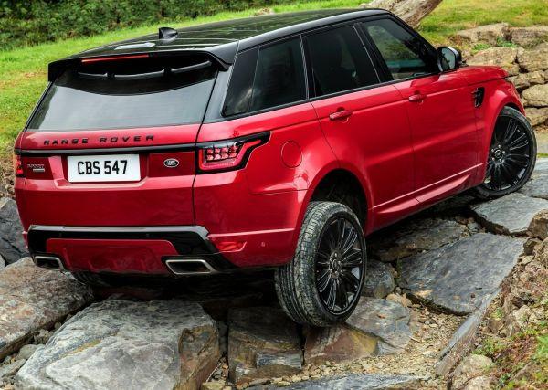 Проходимость нового внедорожника Range Rover Sport 2018