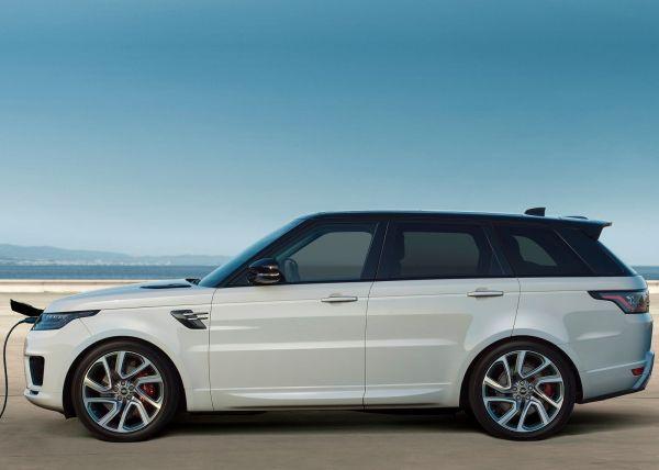 Зарядка гибридного Range Rover Sport PHEV 2018