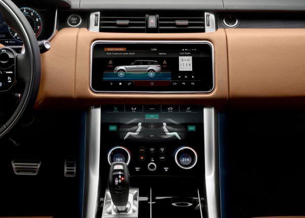 Центральная консоль Land Rover Range Rover Sport 2018