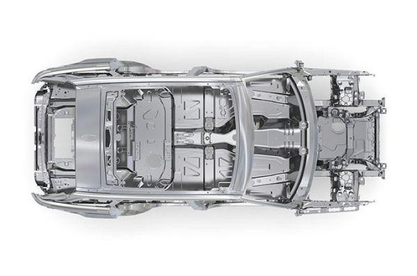 Алюминиевый кузов нового Range Rover Sport 2018