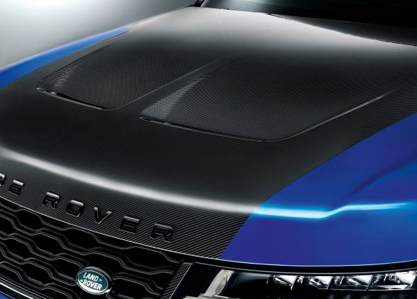 Капот Range Rover Sport SVR 2018