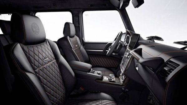 Интерьер эксклюзивного Mercedes-AMG G65 Final Edition