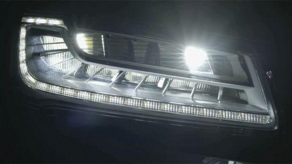 Матричная оптика современного автомобиля