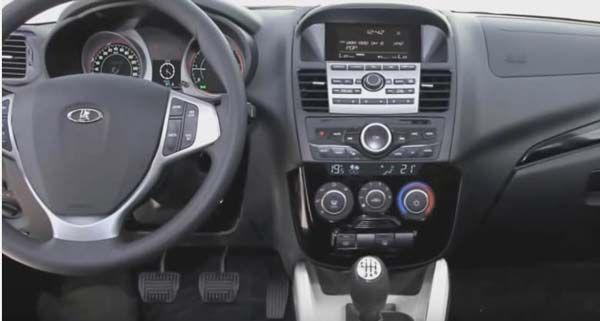 Интерьер новой Lada Niva 2018