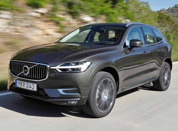 Цена нового Volvo XC60 2018 в России