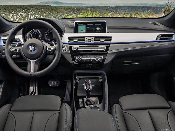 Интерьер BMW X2 2019