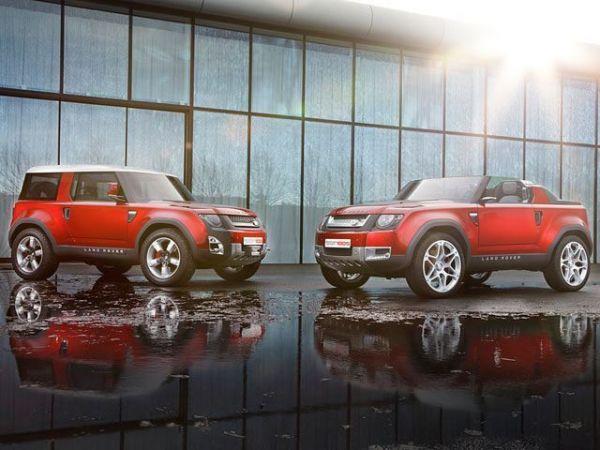 Два типа кузова нового Land Rover Defender 2018