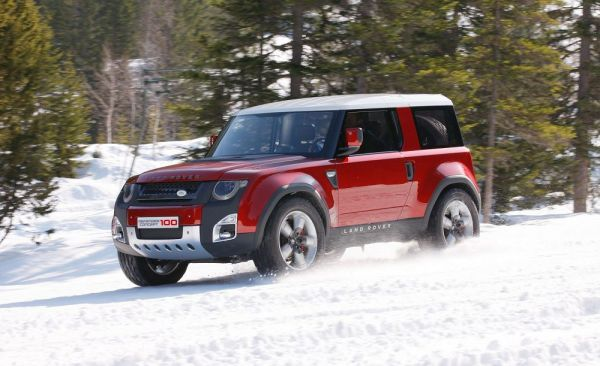 Новый 2018 Land Rover Defender