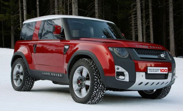 Стильный Land Rover Defender