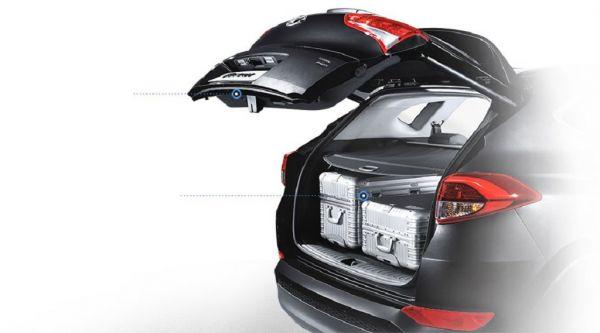 Hyundai Tucson 2017-2018, багажник