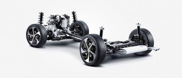 Hyundai Tucson 2017-2018, ходовая часть