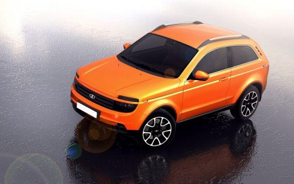 Стильный и новый внедорожник Lada Niva 2018