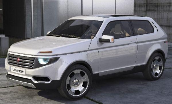 Светодиодная передняя оптика Lada Niva 2018