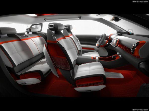 Ситроен C-Aircross Concept 2017 года, кресло
