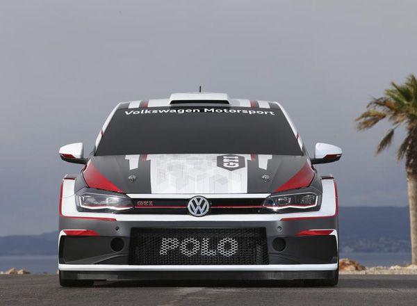 Заряженный Volkswagen Polo GTI R5