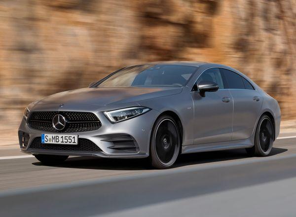 Заряженный Mercedes-Benz CLS