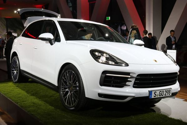Новый Porsche Cayenne 2018