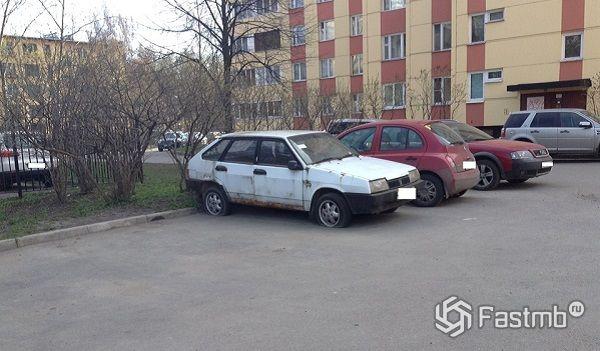 признаки заброшенного автомобиля
