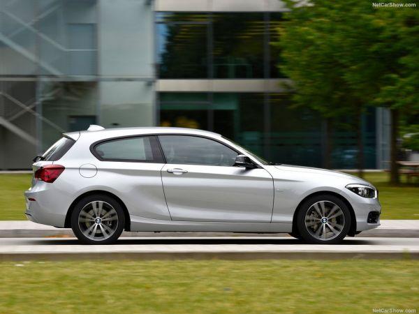 BMW 1-Series 3-door 2018, вид сбоку справа